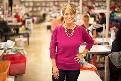 Brandi Temple, Nhà sáng lập kiêm giám đốc điều hành của Lolly Wolly Doodle.